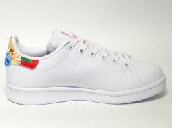 アディダス☆ウィメンズスニーカー【adidas】スタンスミス(STAN SMITH) W / ランニングホワイト×パワーレッド / BB5157