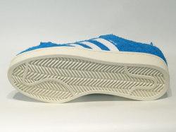 アディダス☆スニーカー【adidas】キャンパス (CAMPUS) / ボールドアクア×ランニングホワイト×クリームホワイト / BZ0070
