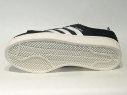 アディダス☆スニーカー【adidas】キャンパス (CAMPUS) / コアブラック×ランニングホワイト×チョークホワイト / BZ0084