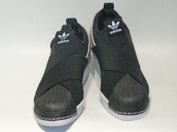 アディダス☆ウィメンズスニーカー【adidas】スーパースター スリッポン (SS SlipOn) W / コアブラック×ホワイト / BY9142