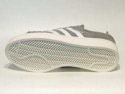 アディダス☆スニーカー【adidas】キャンパス (CAMPUS) / グレースリー×ランニングホワイト×チョークホワイト / BZ0085
