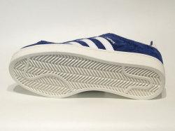 アディダス☆スニーカー【adidas】キャンパス (CAMPUS) / ダークブルー×ランニングホワイト×チョークホワイト / BZ0086