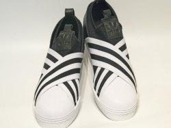 アディダス☆ウィメンズスニーカー【adidas】スーパースター スリッポン (SS SlipOn) W / コアブラック×ランニングホワイト / AC8582