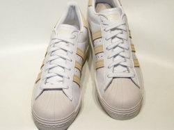 アディダス☆スニーカー【adidas】スーパースター SS 80s / ランニングホワイト×マルーン×クリスタルホワイト / CM8439