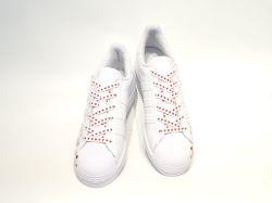 アディダス☆ウィメンズスニーカー【adidas】スーパースター (SUPER STAR) W / ホワイト×ブラック×ピンク / FV3289