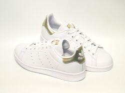 アディダス☆ウィメンズスニーカー【adidas】スタンスミス(STAN SMITH) W / フットウェアホワイト×ゴールドメタリック / EE8836