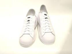 アディダス☆ウィメンズスニーカー【adidas】スーパースター (SUPER STAR) W / ホワイト×ブラック×ホワイト / FW3555