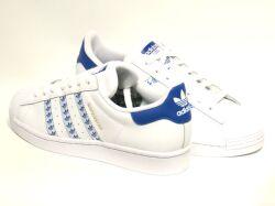 アディダス☆スニーカー【adidas】スーパースター (SUPER STAR) / フットウェアホワイト×ラッシュブルー×ラッシュブルー / FY3494