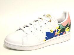 【adidas】スタンスミス(STAN SMITH) W / フットウェアホワイト××ローリーピンク×ゴールドメタリック /  FW2522