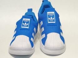 アディダス☆キッズスニーカー【adidas】スーパースター (SUPERSTAR ) 360 C / ランニングホワイト×ブライトブルー / B37239
