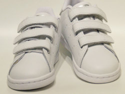 アディダス☆ベビー スニーカー【adidas】スタンスミス(STAN SMITH) CF I / ホワイト×ホワイト×ブラック / EE8485