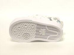 アディダス☆ベビースニーカー【adidas】ニッツァ グーフィ(NIZZA I GOOFY)  I / ホワイト×スカーレット×ブラック / FW3822