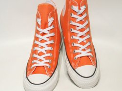 コンバース☆スニーカー【CONVERSE】オールスター 100 カラーズ (ALL STAR 100 COLORS) HI / ORANGE オレンジ) / 1SC048