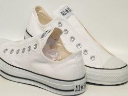コンバース☆スニーカー【CONVERSE】オールスター スリップ (ALL STAR SLIP) 3 OX / WHITE / 1C239