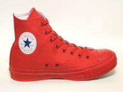 コンバース☆スニーカー【CONVERSE】ALL STAR 100 LOGO EMBROIDERY HI / RED / 1SC186