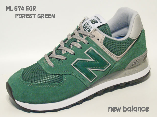 reputable site ed493 fd544 ニューバランス☆スニーカー【new balance】ML 574 EGR / FOREST GREEN